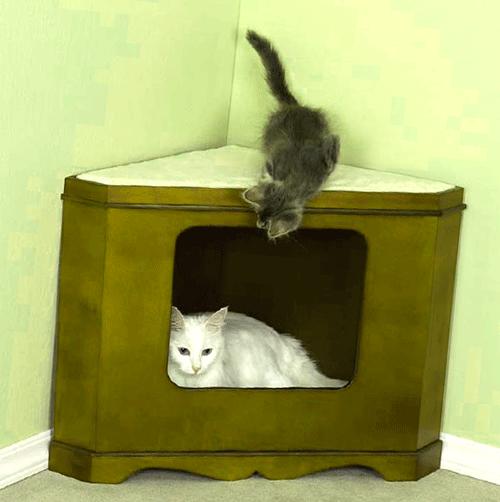 Пуфики своими руками для кошек