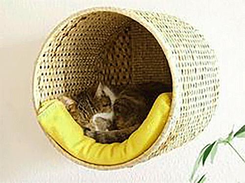 Корзинки для кошек сшить своими руками
