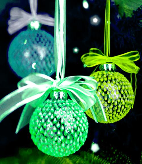 Новогодняя игрушка своими руками из бумаги шар