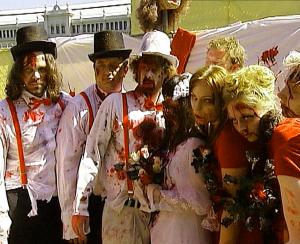 зомби свадьба