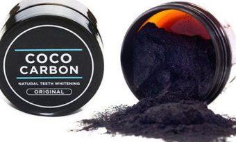 Порошок для отбеливания зубов Carbon CocoNut — сила кокоса в действии!