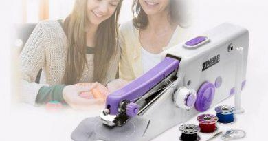 Швейная машинка Зимбер — удобный гаджет для дома и путешествий