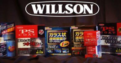 Японская мелкоабразивная глина WILLSON AUTOCLAY для восстановления покрытия авто