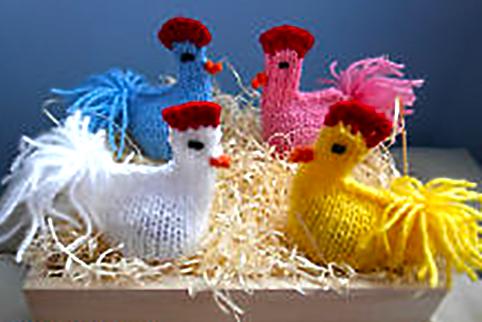 вязанные игрушки к пасхе