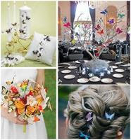 свадьба в стиле бабочки