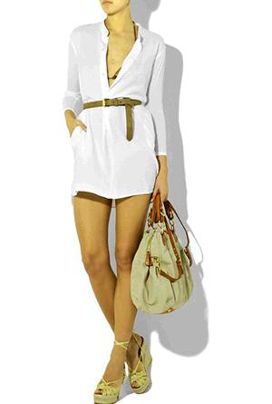 платье рубашка фото
