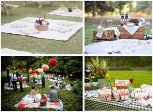 свадьба в стиле пикника