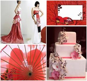 свадьба в стиле японии