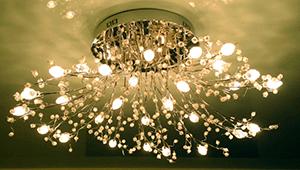 люстры для зала фото