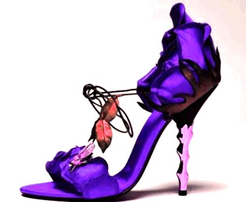 необычные туфли фото