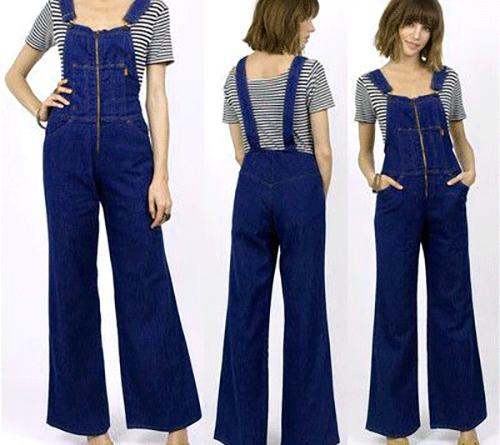 джинсовые комбинизоны женские