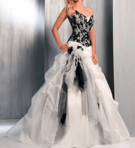 оригинальные свадебные платья