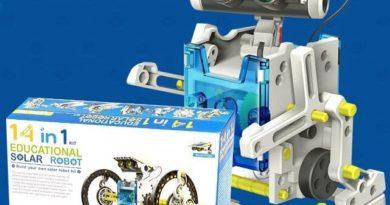 Робот конструктор Solar на солнечной батарее — обзор игрушки
